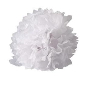 boule crépon blanc