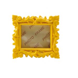 Cadre vintage jaune