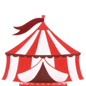 décoration de table thème cirque