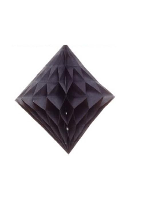 Crépon diamant noir
