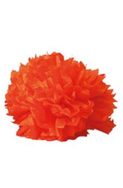 Boule crépon orange
