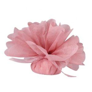 Tulle à dragées rose