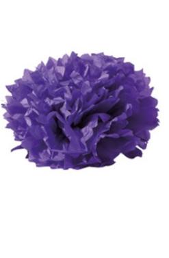 Boule crépon lilas