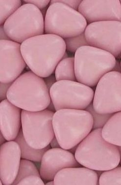 Dragées chocolat coeur