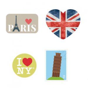 stickers voyage