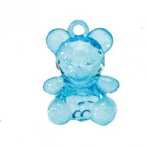 accessoires contanant bleu