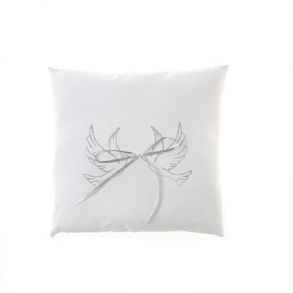 coussin alliances colombes