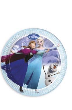 Assiette Reine des neiges