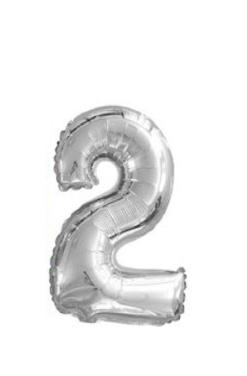 Ballon chiffre 2