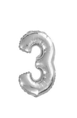 Ballon chiffre 3