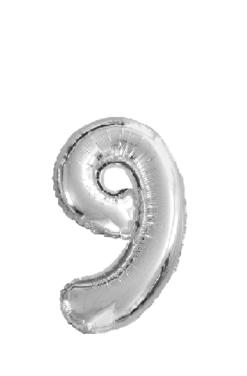 Ballon chiffre 9