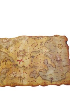 Carte aux trésor pirate