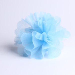 Tulle à dragées bleu clair