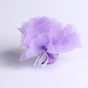 Tulle à dragées violet