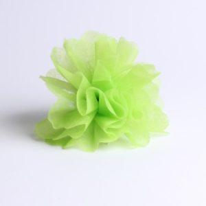 Tulle à dragées vert
