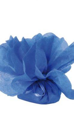 Tulle à dragées bleu