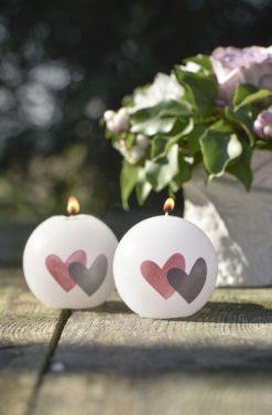 Bougie romantique