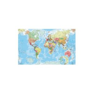 40 stickers Carte du monde