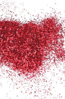 Paillettes rouge