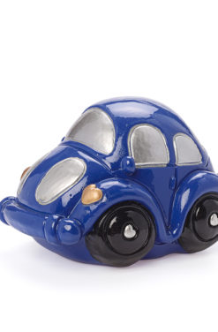 Urne voiture bleu