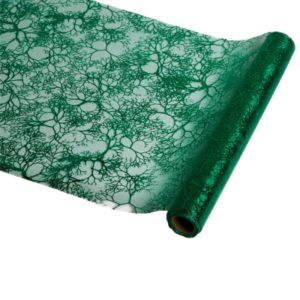 décoration de table vert