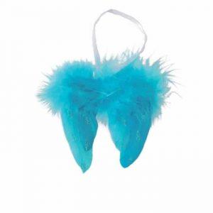 aile d'ange bleu
