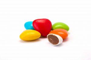 Dragées coeur chocolat
