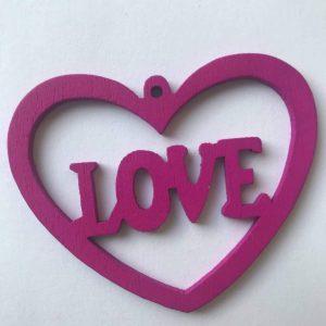 Coeur love fuchsia