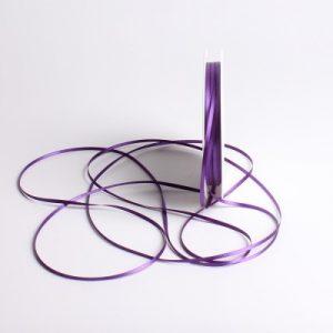 Ruban mariage violet 3mm